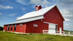 Kill Creek Farm in DeSoto, Kan. is home to a nostalgia-worthy barn.