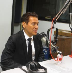 Michael Feinstein in studio at KCUR.