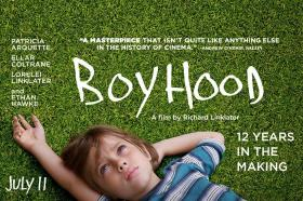 'Boyhood' is on film critic Cynthia Haines' list this weekend.