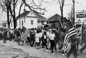 Civil Rights March in Alabama