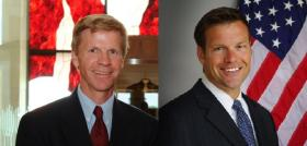 Kansas secretary of state Republican primary candidates Scott Morgan and incumbent Kris Kobach joined Brian Ellison on Up to Date Tuesday to debate issues surrounding the race.