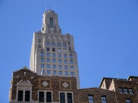 The iconic Kansas City Power and Light building could be repurposed as apartments. The skyscraper, which was built in the 1930s, is mostly empty.