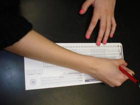 Most students in Kansas now take their standardized tests on computers. Marianne Perie with KU's Center for Education Testing and Evaluation says even paper and pencil tests aren't foolproof: This year, a box of tests fell off a truck and was destroyed.