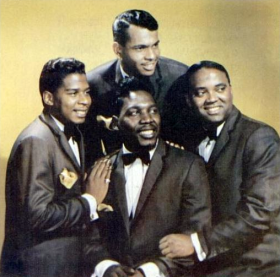 The Drifters in 1964