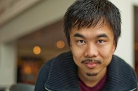 Actor and musician Vi Tran has a new play based on his childhood experiences as a refugee in Garden City.