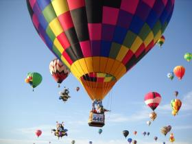 The Great Midwest Balloon Fest at The Kansas Speedway