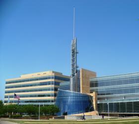 Cerner's headquarters in North Kansas City.