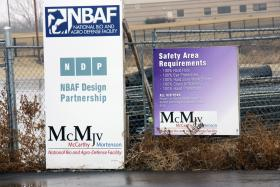 The proposed NBAF lab in Manhattan, Kan., is on the campus of Kansas State University.