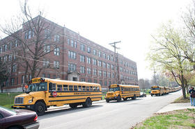 The old Southwest High School building is the proposed site of a new foreign language-centric high school. Kansas City Public Schools would partner with Academie Lafayette to open the school.