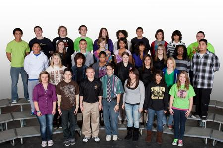The Troubadours Poetry Club Year Book Photo. (2011)