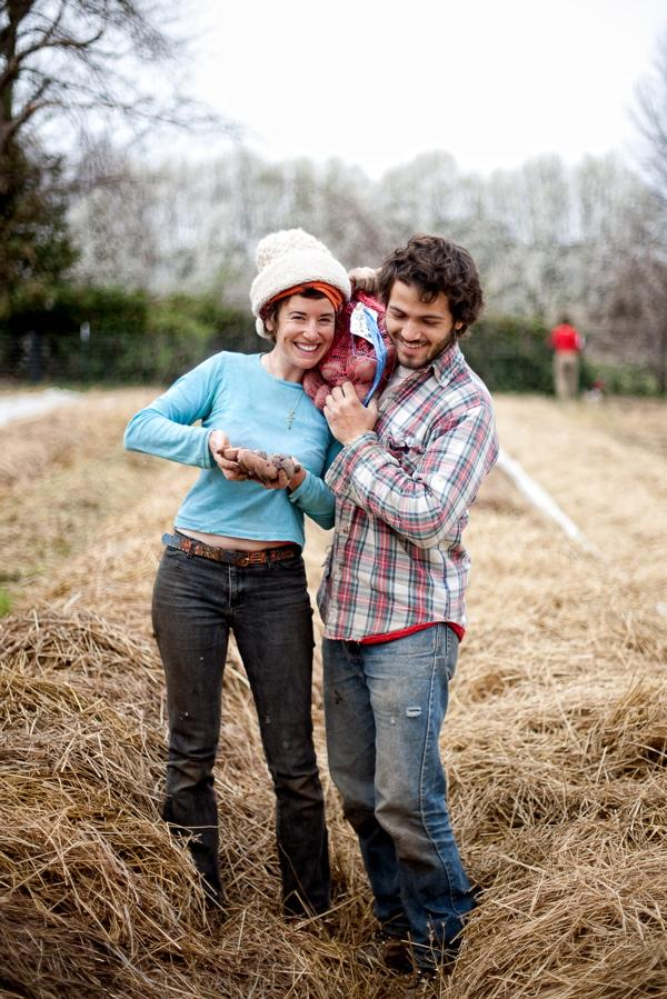 Brooke Salvaggio and Dan Heryer of BADSEED Market