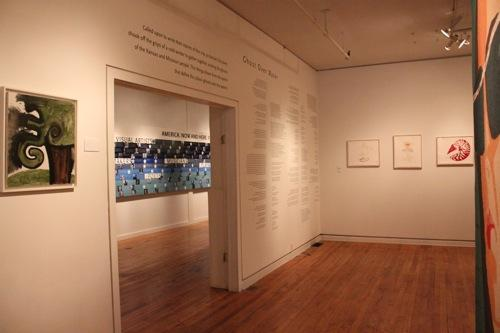 The poems were on display at the Leedy-Voulkos gallery in the Crossroads throughout the month of May.