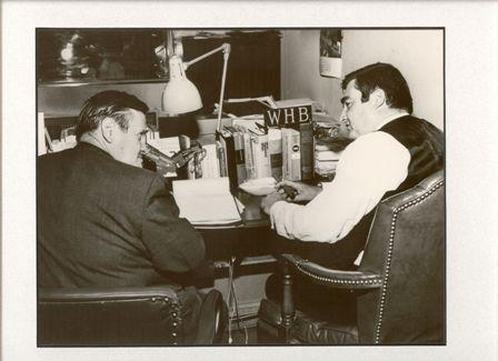 Walt with J.D. Salinger