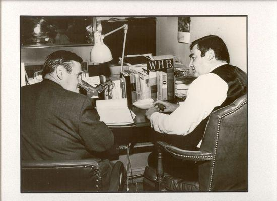 Walt with Salinger.