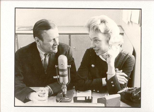 Walt with a cohost