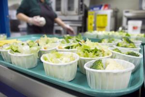 A new federal act mandates that schoolchildren be served healthier meals.