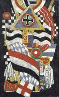 Marsden Hartley (1877-1943). Portrait of a German Officer, 1914. Oil on canvas, 68-1/4 x 41-3/8 in. The Metropolitan Museum of Art, New York. The Alfred Stieglitz Collection, 1949. ? 1985