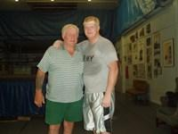 Harley Race and Trevor Rhodes