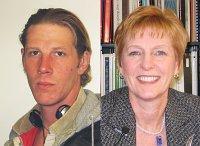 Jan Kauk advocates building a community center for Kansas City's homeless like Adam (left).