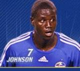 The Kansas City Wizards' Eddie Johnson could come in as a forward in today's World Cup game against Ghana.