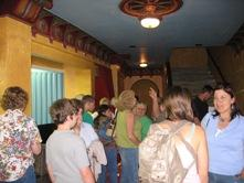 Theatre-goers in the lobby at the Screenland Granada on opening day.