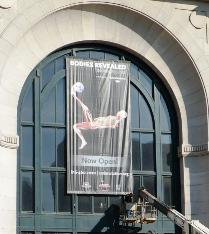 <i>Bodies Revealed</i> opened at Union Station on February 29.  The exhibit features human bodies that have undergone a special preservation process.