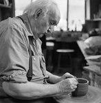 The late Ceramic artist Ken Ferguson