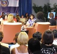 Michelle Obama Hosts Roundtable Featuring Local Women