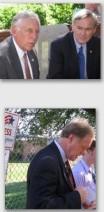 TOP, L to R. U.S.  Representatives Steny Hoyer ( D, Md), Dennis Moore  (D, Ks) Bottom, Nick Jordan(R, Ks. Senate)