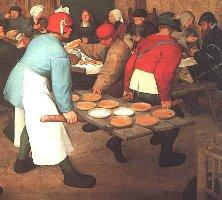 """Peasant Wedding"" Pieter Bruegel the Elder, 1568"