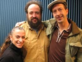 The 2008 Fellows are (pictured left to right) choreographer/dancer DeeAnna Hiett; composer/musician Mark Southerland; and playwright/producer/director/actor Ron Megee.