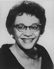 Former US Commissioner of Civil Rights Frankie Muse Freeman
