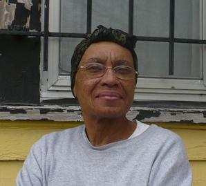 Green Zone resident Hazel Baldwin.