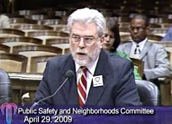 Health Department Director Dr. Rex Archer gave a council commmittee a status report on pandemic plans on Wednesday.