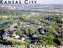 Behind this attractive cover photo are the 362 pages of a proposed new Kansas City development/ zoning ordinance.