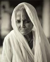 Fazal Sheikh (American, born 1965) Pramila Satar, 2005. From Moksha. Carbon Inkjet print on handmade Hahnemuele Photo Rag 308 g/m2 paper.? Fazal Sheikh.