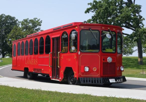 Rubber tired trolley buses would run from the River Market to Waldo, evenings only, under a new plan.