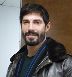 Rudy Reyes in the KCUR studio.