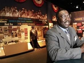 Bob Kendrick at the Negro Leagues Baseball Museum.