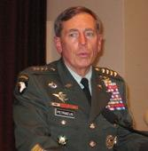 General David Petraeus speaks of Korean War veterans at Independence, MO.
