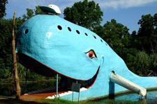 The Big Blue Whale, Catoosa, OK