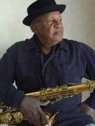 Jazz musician Ahmad Alaadeen