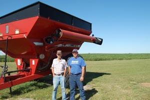 Matt Peters and John Lase found each other through the FarmOn program run out of Iowa State University.