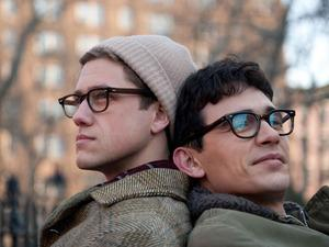 Aaron Tveit and James Franco star as Peter Orlovsky and Allen Ginsberg