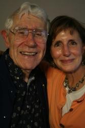 """Jeanie Schiefelbusch brought her father, Richard \""""Dick\"""" Schiefelbusch"""