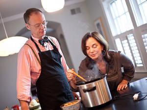 Chris Kimball And Renee Montagne In The Kitchen