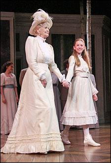 "Elaine Stritch and Katherine McNamara in ""A Little Night Music"" on Broadway."