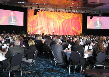 Rocco Landesman, Chairman, National Endowment for the Arts, keynote speaker of the Downtown Council's annual luncheon, December 10, 2010