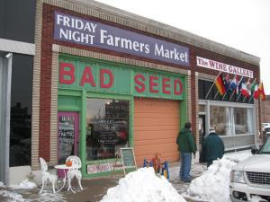 Bad Seed winter farmers market in Kansas City, Mo.