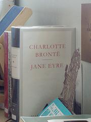 Photo of a Jane Eyre book.